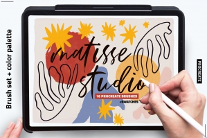 Procreate Matisse Brush Pack