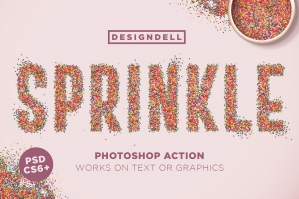 Sprinkle Photoshop Action
