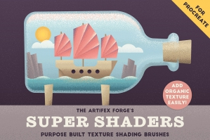 Super Shaders - Procreate Brushes