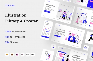 Tucana Illustration Library & Creator