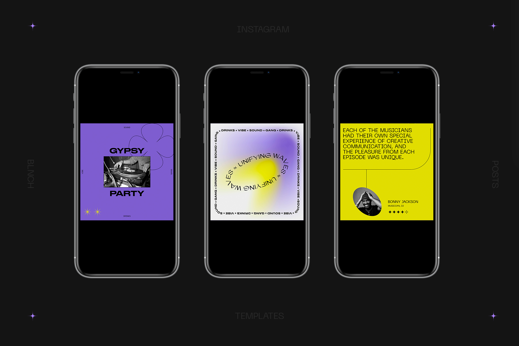 Unifying Waves Instagram Templates