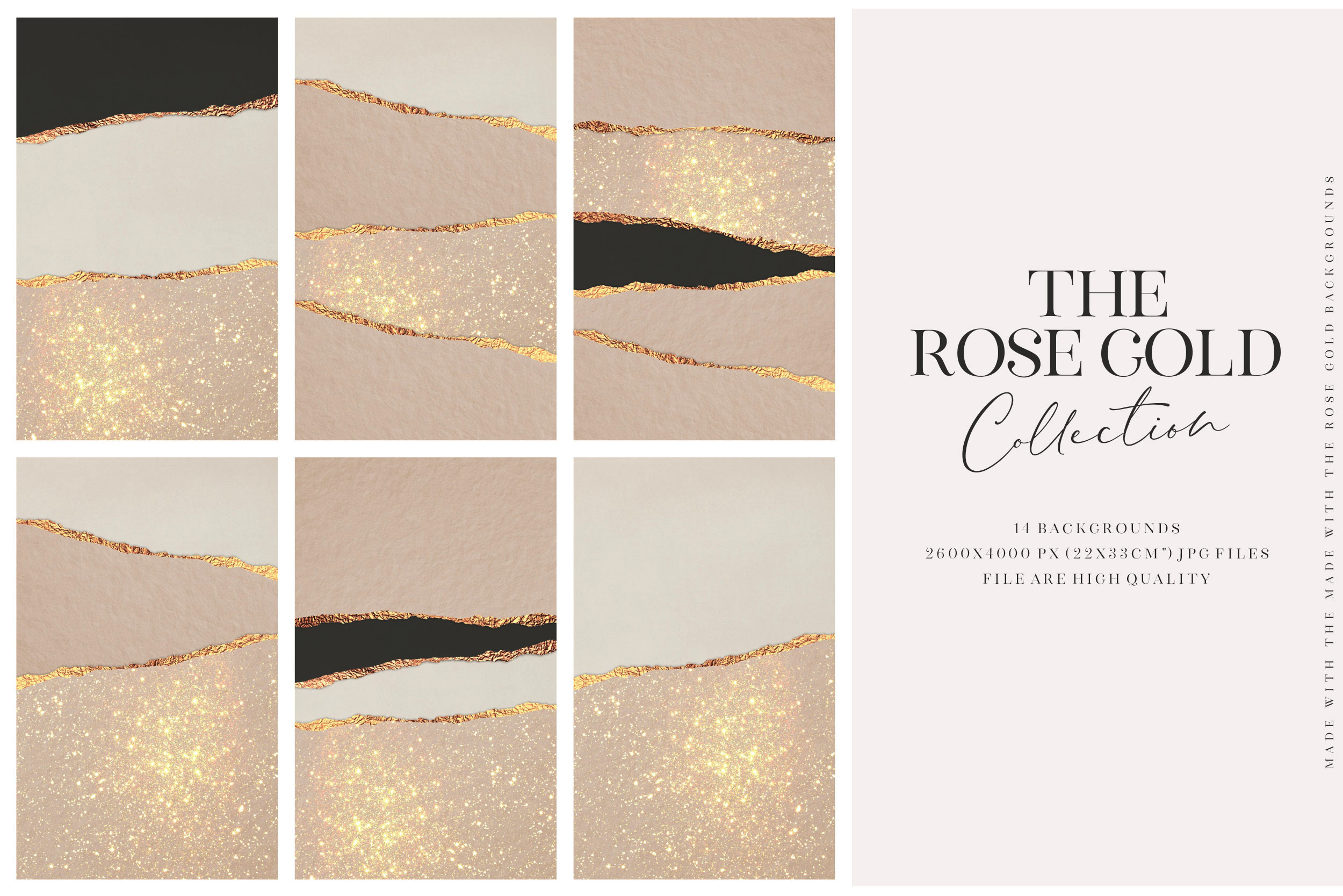 Valentine's Day Rose Gold Backgrounds