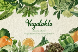 Vegetable Organic Farm Set