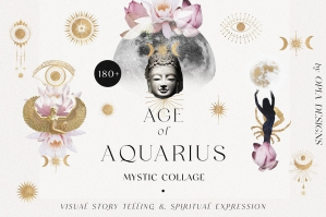 Age of Aquarius - Mystic Collage