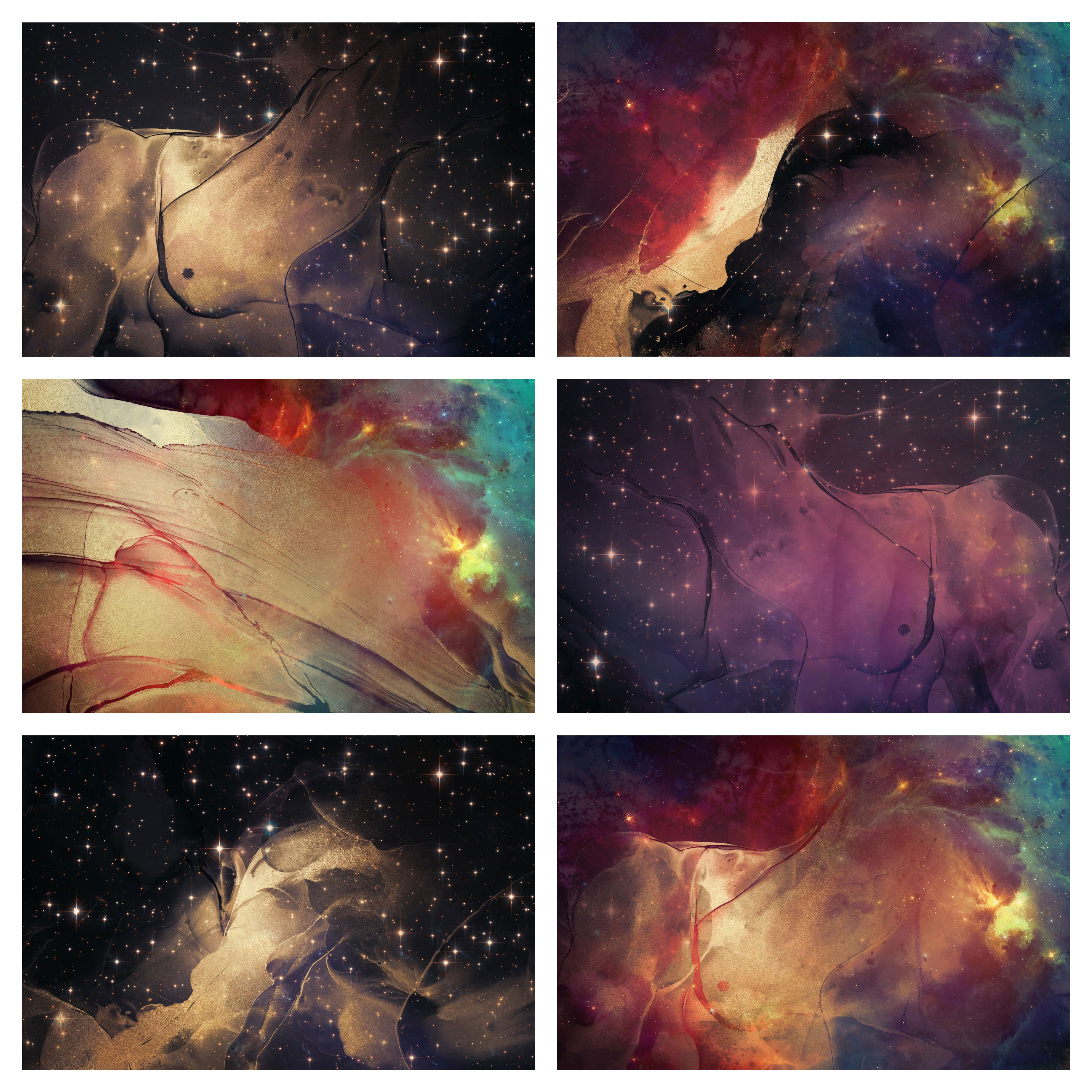 Alcohol Ink Art & Galaxy Collection