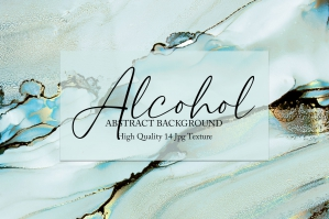 Alcohol Ink Texture 14