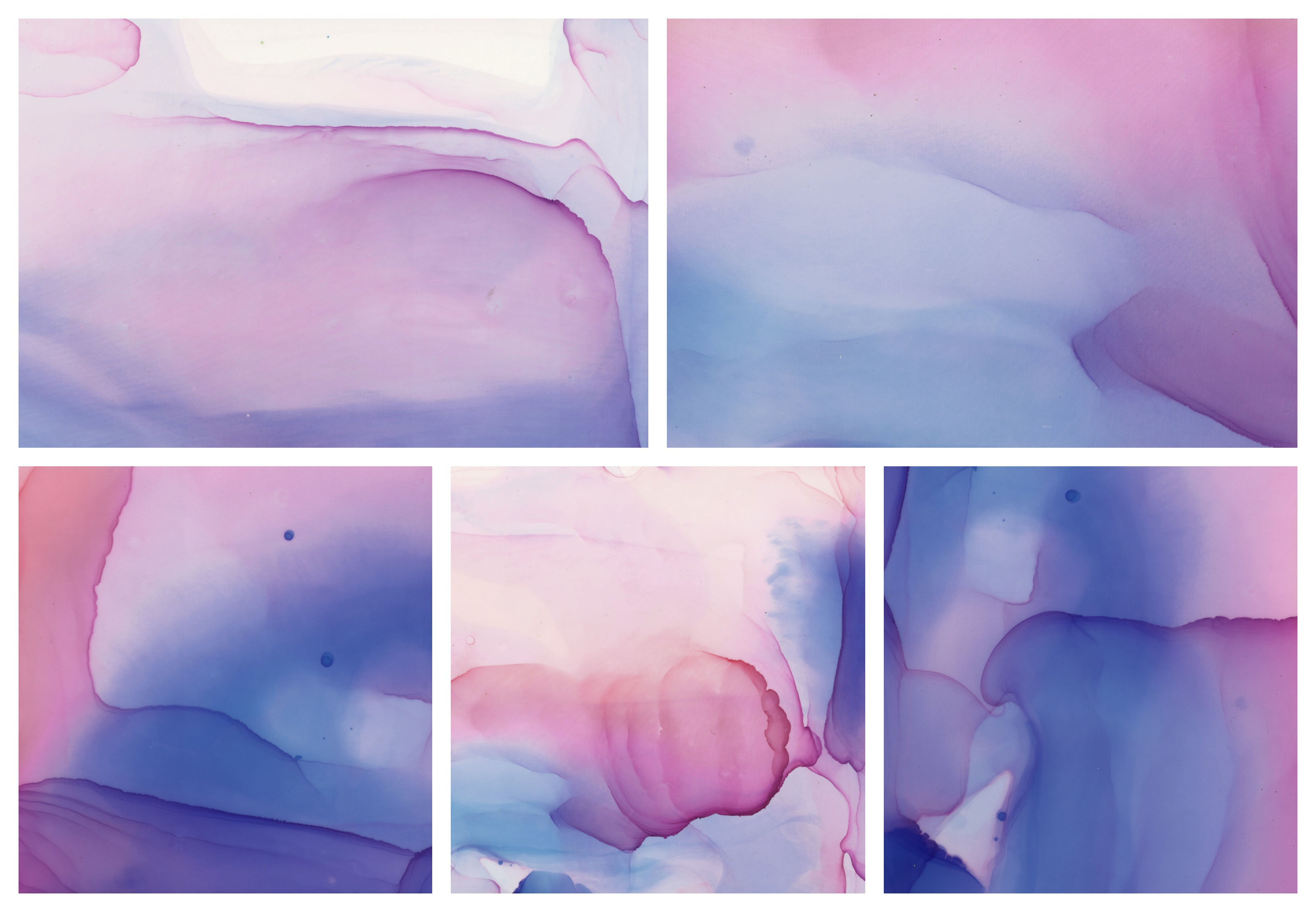 Alcohol Ink Textures 2
