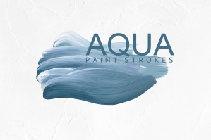 Aqua Paint Strokes Collection