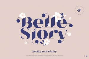 Belle Story - Beauty Serif Family