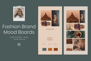 Brand Mood Boards Fashion