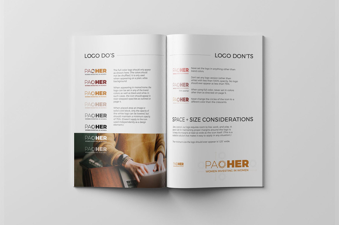 Branding Style Guide Template for InDesign