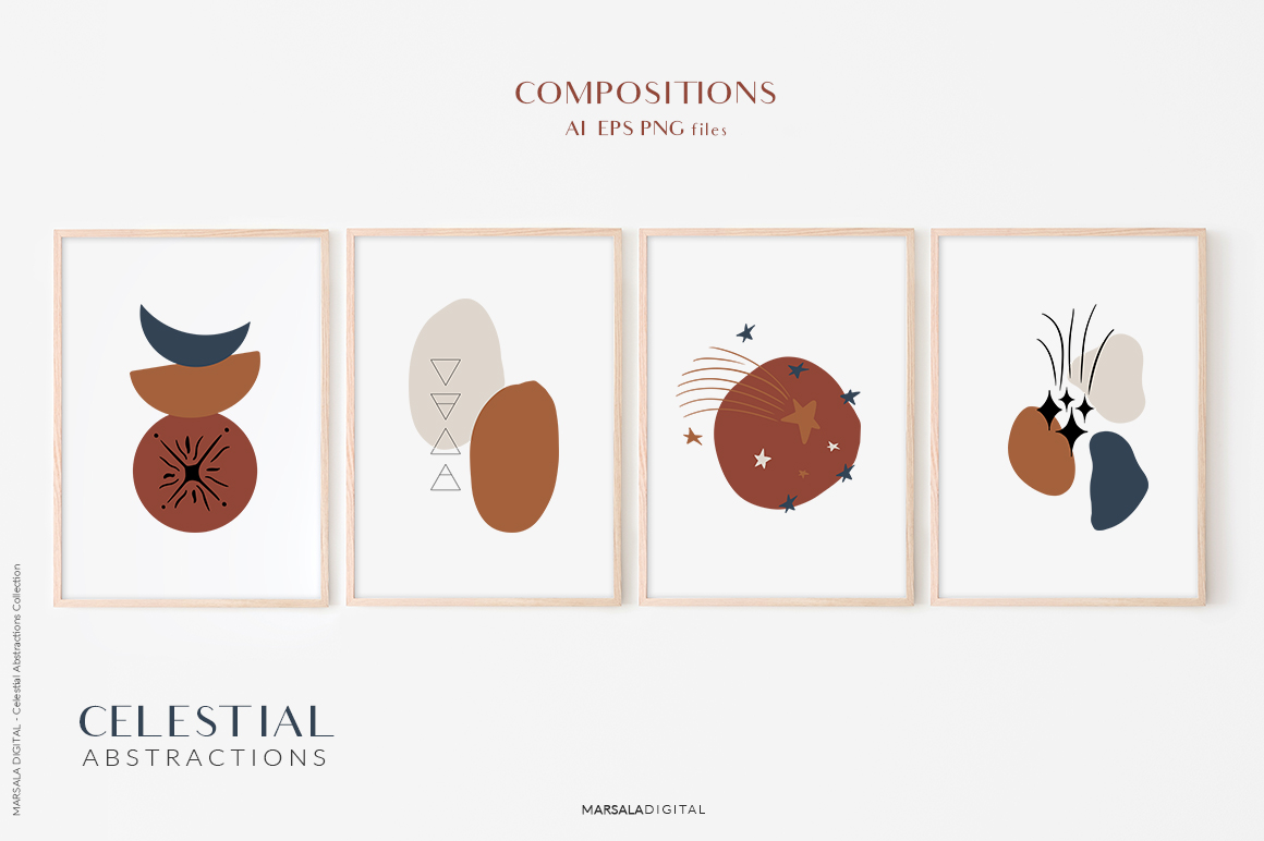 Celestial Abstractions Collection