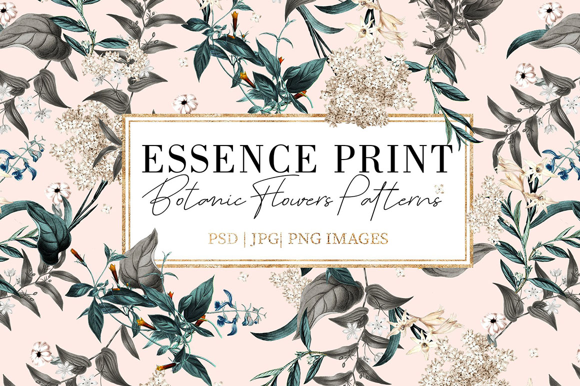 Essence Prints Design with Exquisite Patterns