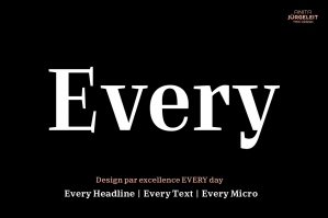 Every Serif Typeface