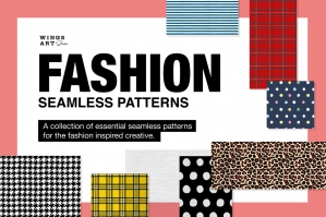 Fashion: Essential Seamless Patterns