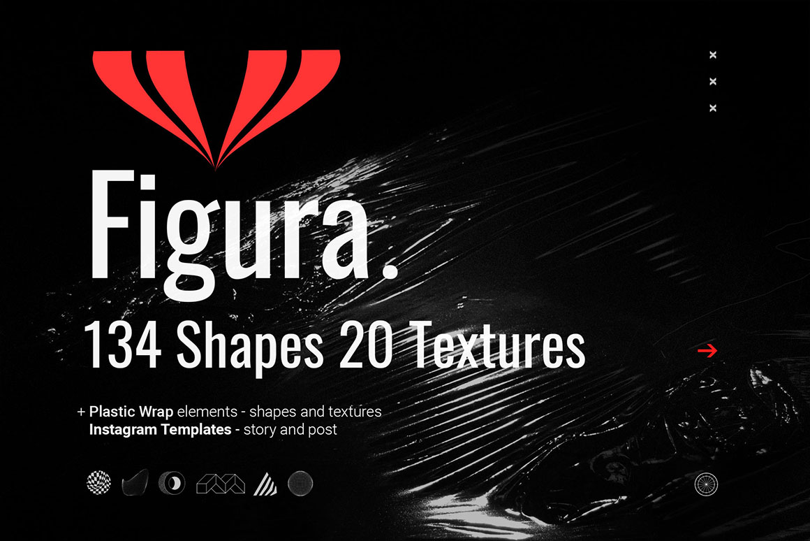 Figura - Abstract Shapes and Textures