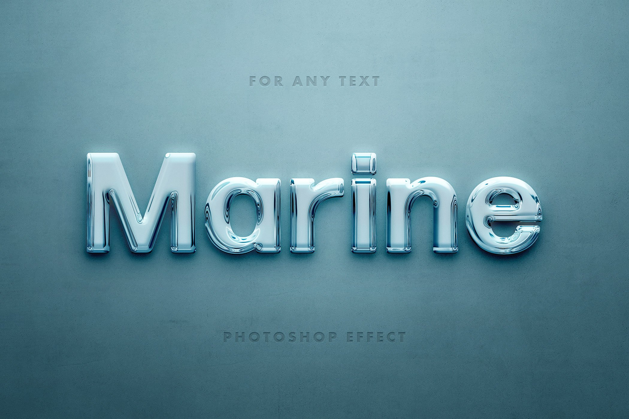 Glossy 3D Text Effects
