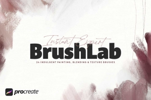 Instant Expert BrushLab for Procreate