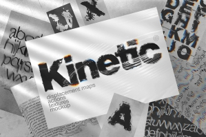 Kinetic - Displacement Maps and Glitch Actions
