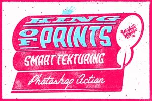 King of Prints - Smart Texturing for Photoshop