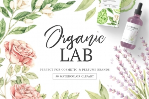 Organic Lab - Watercolor Kit