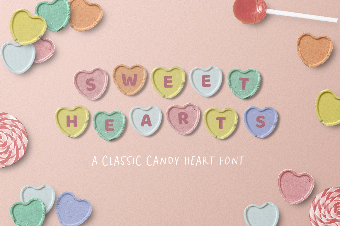 Sweet Hearts Candy Font