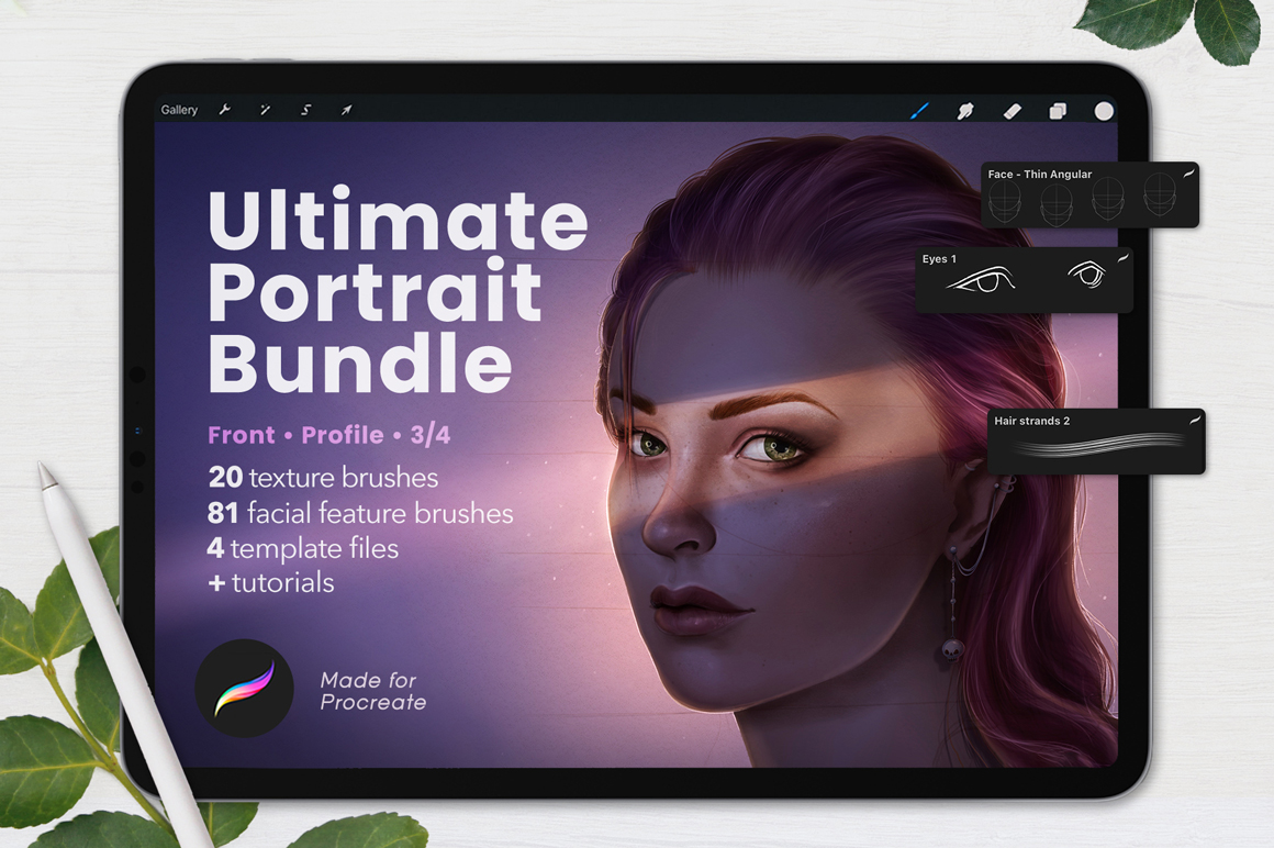 Ultimate Portrait Bundle For Procreate