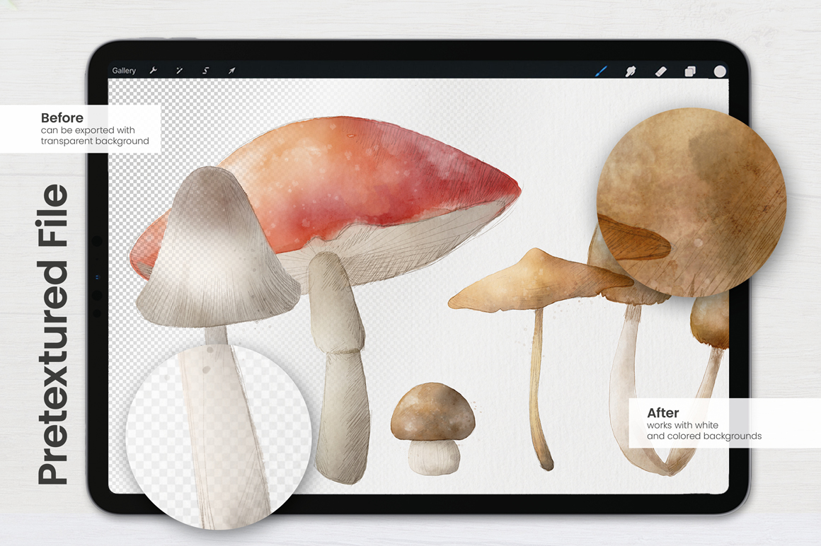 Ultimate Watercolor Brushes for Procreate