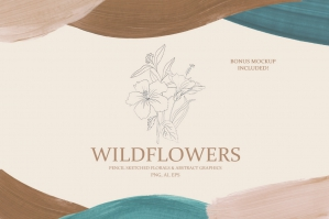 Wildflowers Botanical Collection