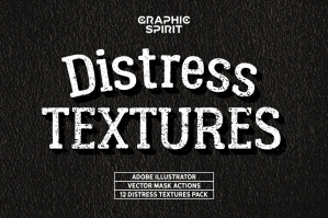 Distress Textures Vector Actions