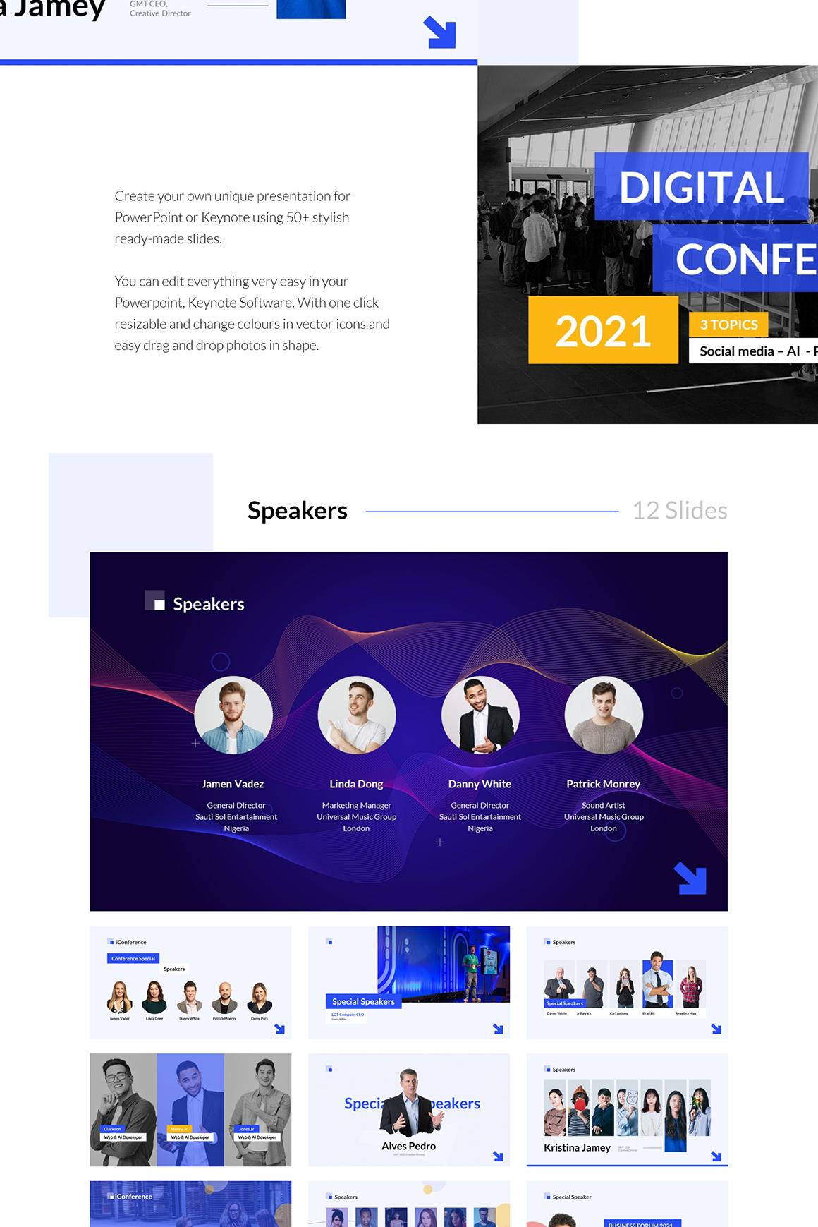 iConference - Animated Presentation Template