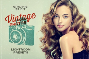Vintage Photo Lightroom Presets Set