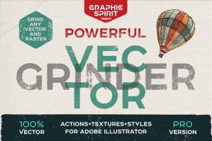 Vector Grinder Toolkit Actions