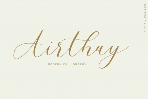 Airthay - Modern Calligraphy