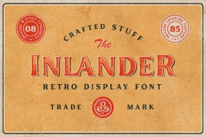 Inlander - Retro Display Font