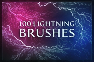 100 Lightning Electricity Brushes