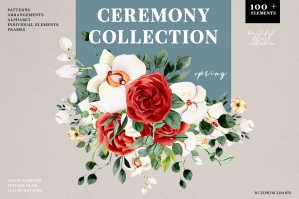 Ceremony Floral Collection