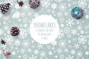 Snowflakes, Patterns and Postcards