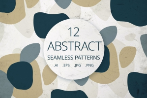 12 Abstract Seamless Patterns 5