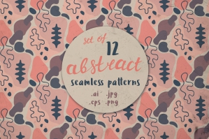 12 Abstract Seamless Patterns 8