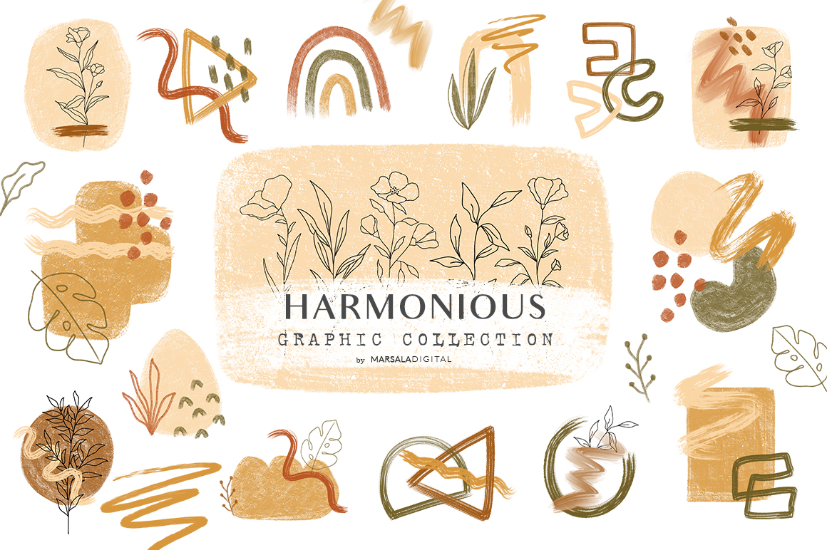 Abstract Harmonious Collection