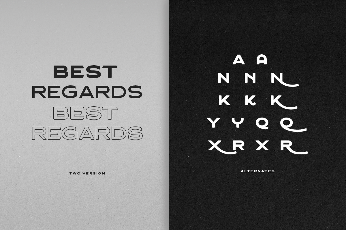 Asterone - Modern Font Family