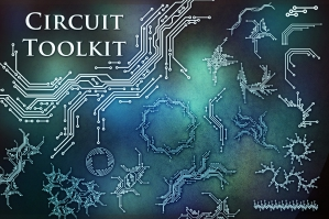 Circuit Toolkit (SVG/PNG/EPS/Brushes)