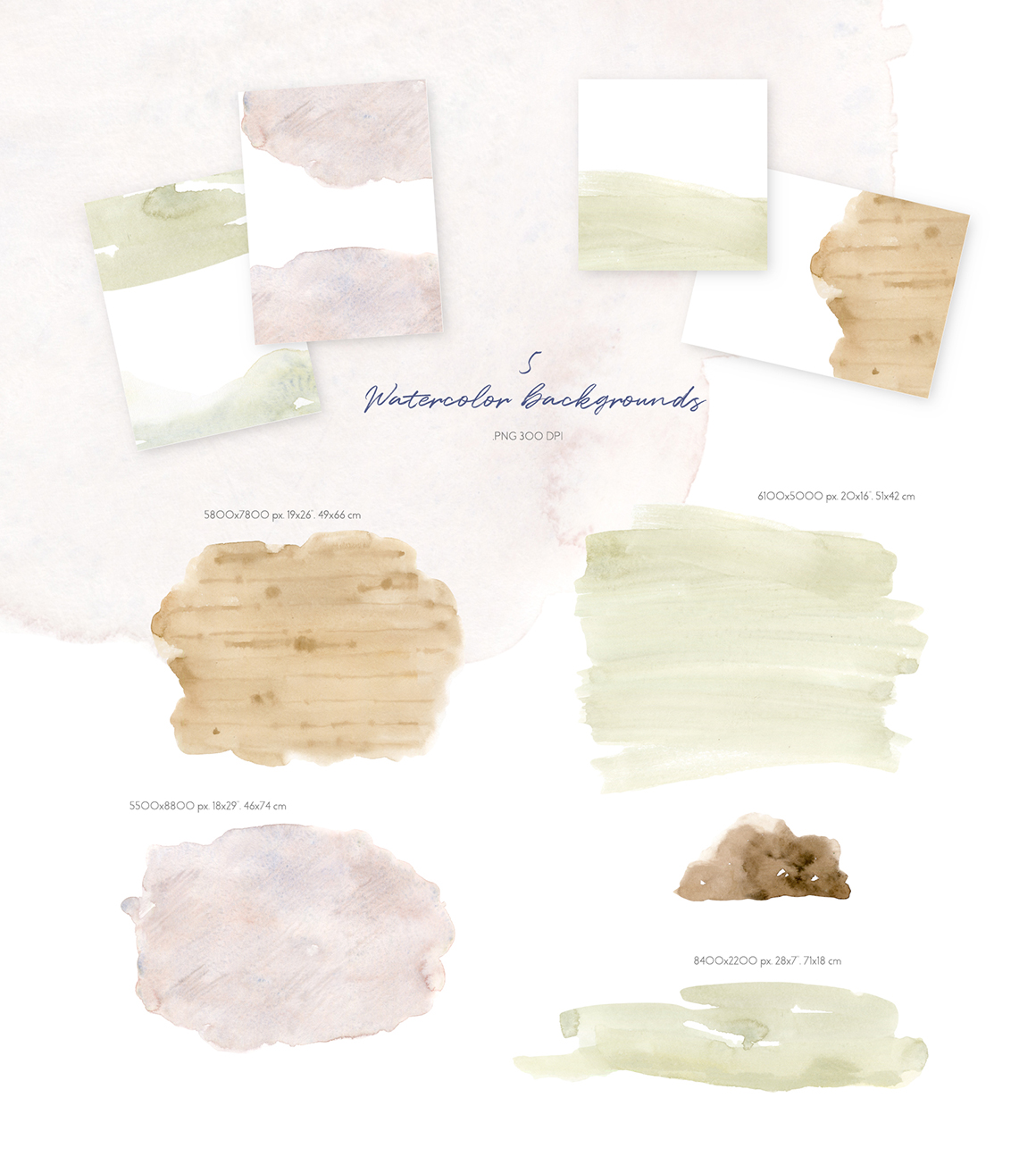 Cosy House Plants Watercolor Clipart