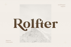 Rolfter - Classic Serif