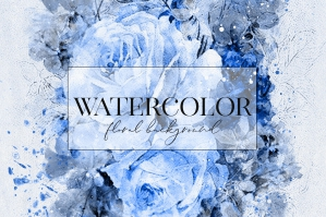 Watercolor Floral Art Vol.2