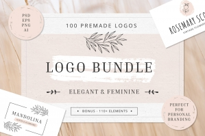 Logo Bundle for Personal Brand