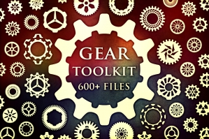 Gear Toolkit (Brushes, .JPG, .PNG, .SVG)
