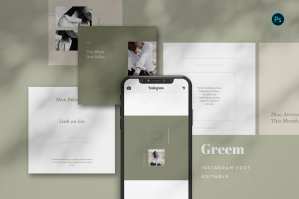Greem - Fashion Instagram