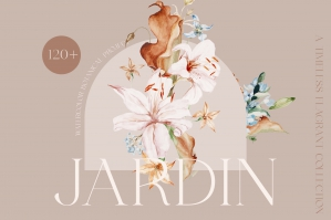 Jardin - Watercolor Botanicals